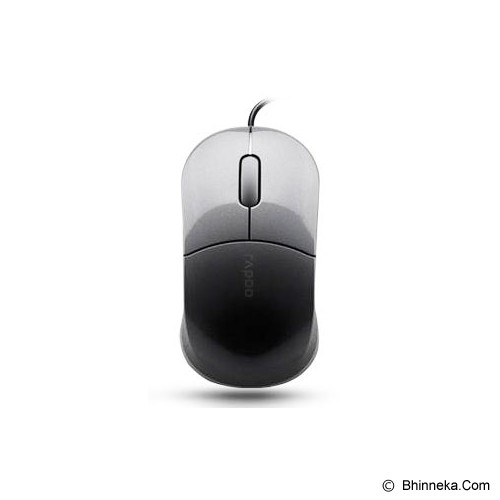 RAPOO Wired Optical Mouse [N6000] - Grey - Mouse Basic